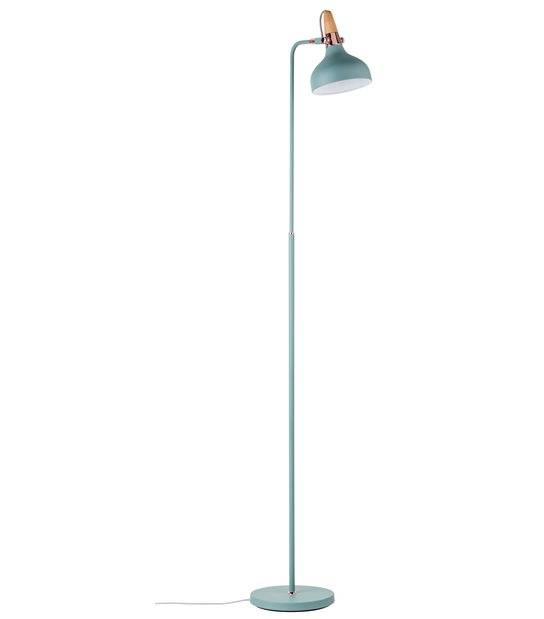 Luminaire Neordic JUNA 220V E14 H.1580mm Vert satiné cuivré bois sans ampoule PAULMANN - 79654 - ECLAIRAGE DECORATIF - siageo-led.com