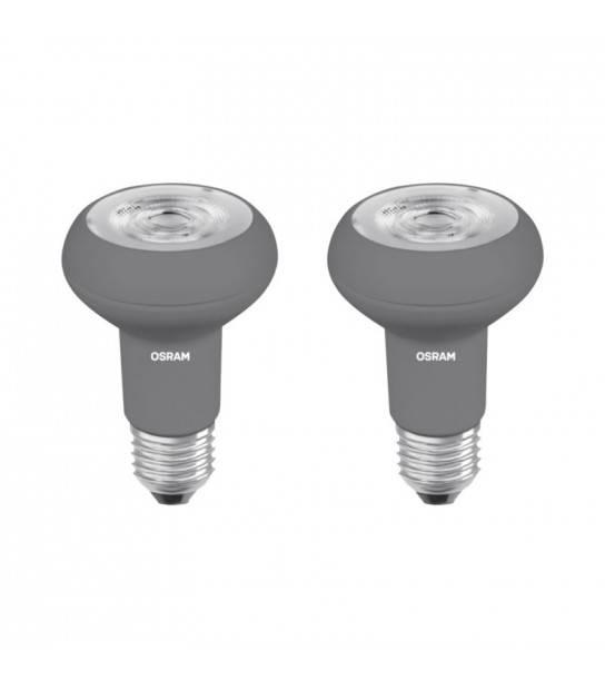 Lot de 2 ampoules LED E27 Dimmable 5W blanc chaud - OSRAM 48195 - AMPOULE E27 - siageo-led.com