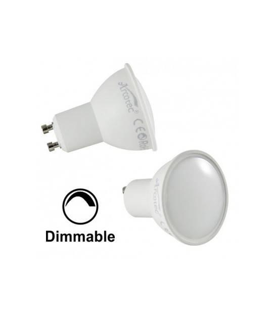 Lot de 2 Ampoules LED SMD GU10 6W dimmable 2700K blanc Chaud - ARCOTEC LGU276D - AMPOULE GU10 - siageo-led.com