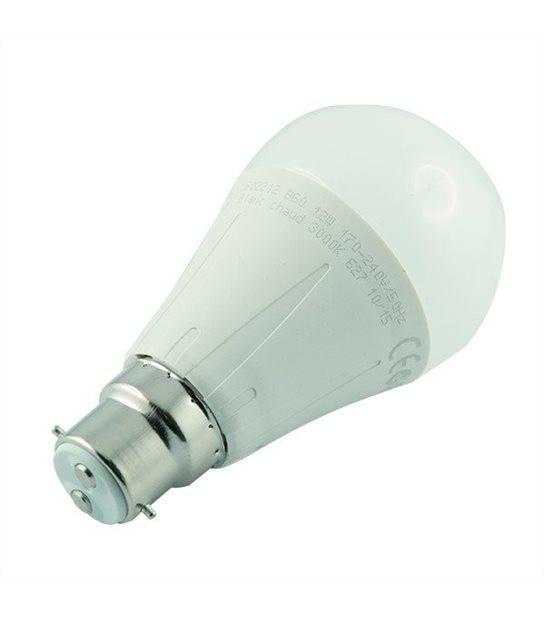 Ampoule led B22 12 watt (eq. 75 watt) - Couleur - Blanc chaud 3000°K - OLD-LEDFLASH - siageo-led.com