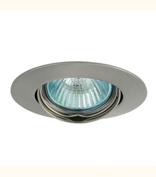 Support spot rond orientable 88 mm (4 couleurs au choix) - Finition - Chromé mat - OLD-LEDFLASH - siageo-led.com