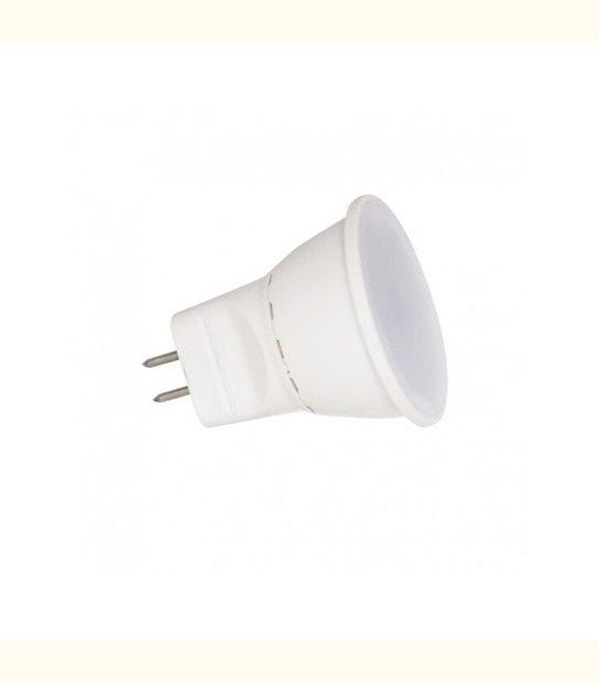 Spot led GU4 3 watt MR11 (eq. 30 watt) - Couleur - Blanc chaud 3000°K - OLD-LEDFLASH - siageo-led.com