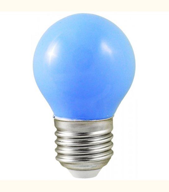 Ampoule led couleur pour guirlande lumineuse - culot au choix - Couleur - Bleu, Culot - E27 - OLD-LEDFLASH - siageo-led.com