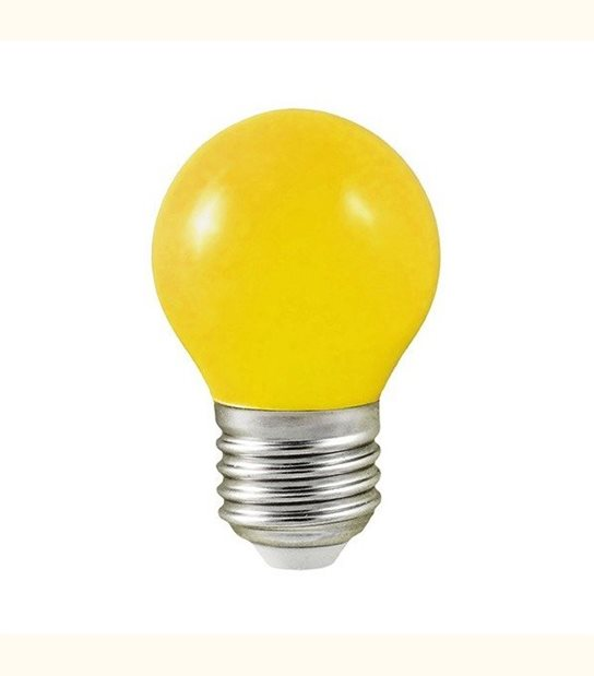 Ampoule led couleur pour guirlande lumineuse - culot au choix - Couleur - Jaune, Culot - E27 - OLD-LEDFLASH - siageo-led.com