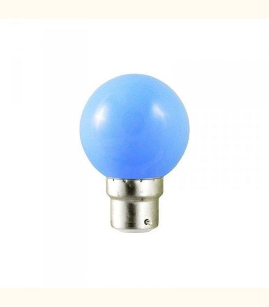 Ampoule led couleur pour guirlande lumineuse - culot au choix - Couleur - Bleu, Culot - B22 - OLD-LEDFLASH - siageo-led.com
