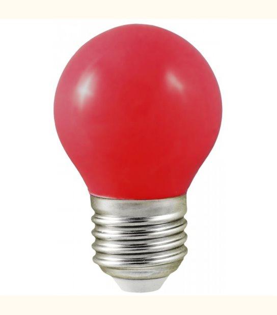 Ampoule led couleur pour guirlande lumineuse - culot au choix - Couleur - Rouge, Culot - E27 - OLD-LEDFLASH - siageo-led.com