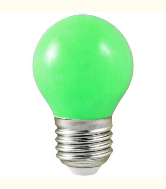 Ampoule led couleur pour guirlande lumineuse - culot au choix - Couleur - Vert, Culot - E27 - OLD-LEDFLASH - siageo-led.com