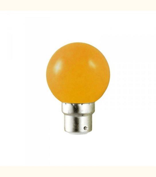 Ampoule led couleur pour guirlande lumineuse - culot au choix - Couleur - Orange, Culot - B22 - OLD-LEDFLASH - siageo-led.com