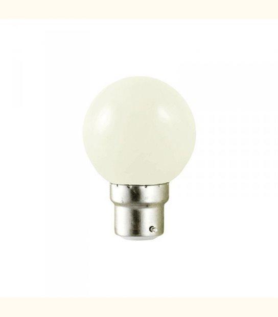 Ampoule led couleur pour guirlande lumineuse - culot au choix - Couleur - Blanc chaud 3000°K, Culot - B22 - OLD-LEDFLASH - siageo-led.com