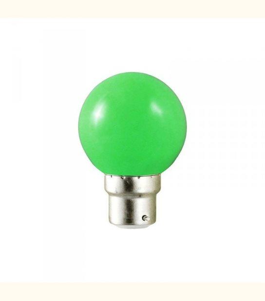Ampoule led couleur pour guirlande lumineuse - culot au choix - Couleur - Vert, Culot - B22 - OLD-LEDFLASH - siageo-led.com