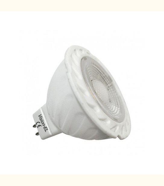 Spot led GU5.3 6 watt (eq. 60 watt) - 120° - Couleur - Blanc chaud 2700°K - OLD-LEDFLASH - siageo-led.com