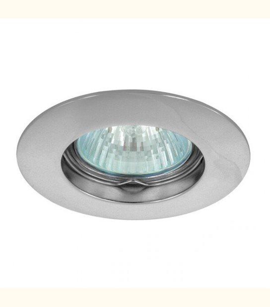 Support spot rond fixe 85 mm (4 couleurs au choix) - Finition - Chromé - OLD-LEDFLASH - siageo-led.com