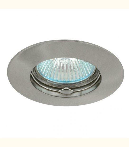 Support spot rond fixe 85 mm (4 couleurs au choix) - Finition - Chromé mat - OLD-LEDFLASH - siageo-led.com