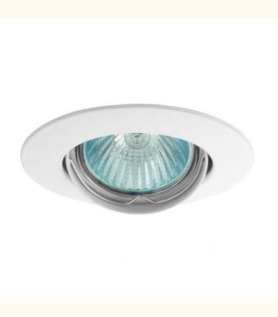 Support spot rond orientable 88 mm (4 couleurs au choix) - Finition - Blanc - OLD-LEDFLASH - siageo-led.com