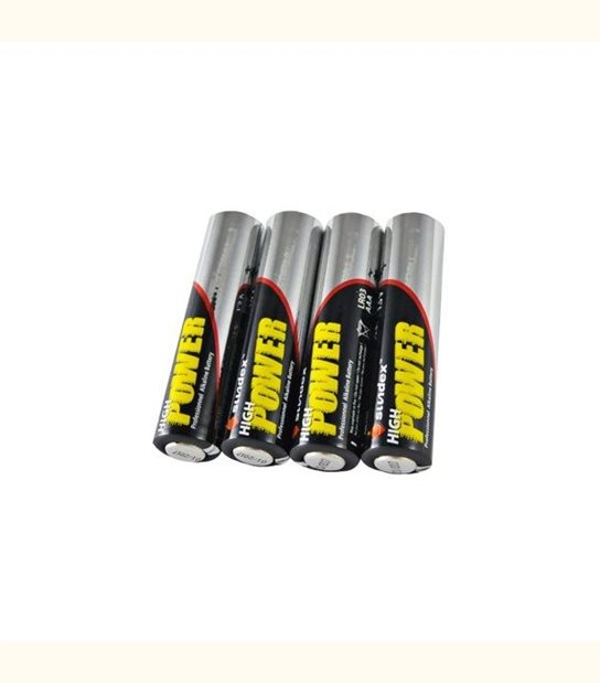 Pile LR03 AAA SUNDEX X4 - OLD-LEDFLASH - siageo-led.com