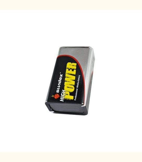 Pile 6LR61 9 volt SUNDEX - OLD-LEDFLASH - siageo-led.com