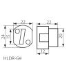 Douille G9 en céramique 240V pour lampes et ampoules - DOUILLE & ADAPTATEUR - siageo-led.com