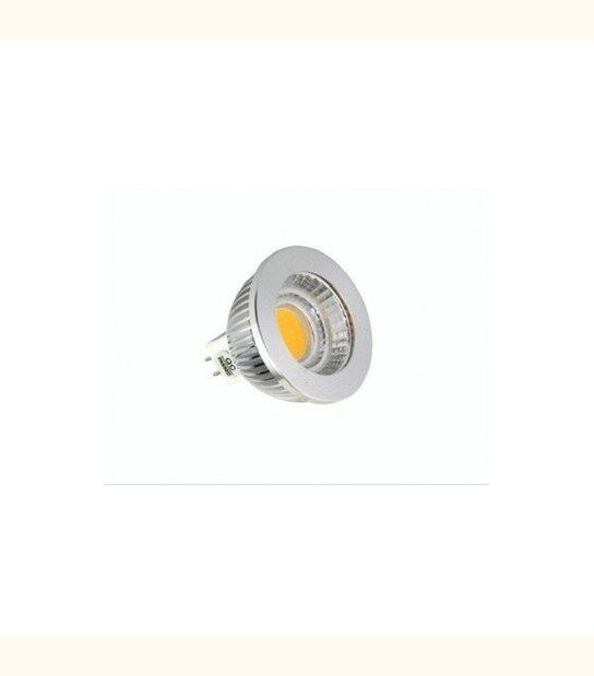 Spot led GU5.3 COB 4 watt Dimmable (eq. 35 watt) - Couleur - Blanc froid 6000°K - OLD-LEDFLASH - siageo-led.com
