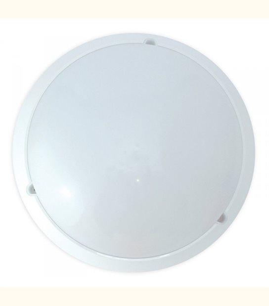 Plafonnier LED 18W (eq. 160W) - Diam : 296 mm - Couleur - Blanc chaud 3000°K - OLD-LEDFLASH - siageo-led.com