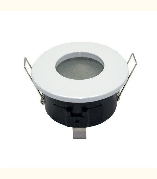 Support spot led étanche IP65 (2 couleurs au choix) - Finition - Blanc - OLD-LEDFLASH - siageo-led.com