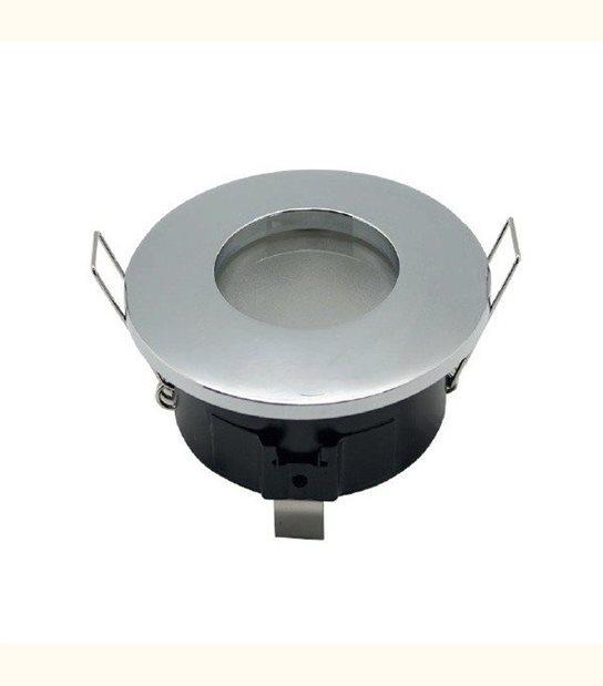 Support spot led étanche IP65 (2 couleurs au choix) - Finition - Acier brossé - OLD-LEDFLASH - siageo-led.com