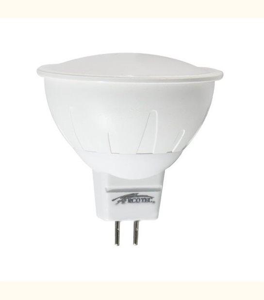 Spot led GU5.3 5 watt (eq. 50 watt) - Couleur - Blanc chaud 3000°K - OLD-LEDFLASH - siageo-led.com