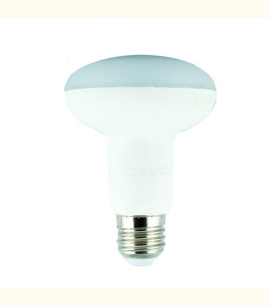 Ampoule led R80 E27 9 watt (eq. 60 watt) - Couleur - Blanc chaud 3000°K - OLD-LEDFLASH - siageo-led.com
