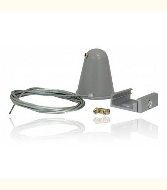 Kit de suspension de rails pour spot led - Finition - Noire - OLD-LEDFLASH - siageo-led.com