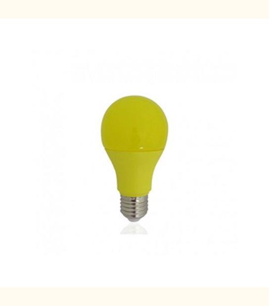 Ampoule led E27 9 watt de couleur - Couleur - Jaune - OLD-LEDFLASH - siageo-led.com