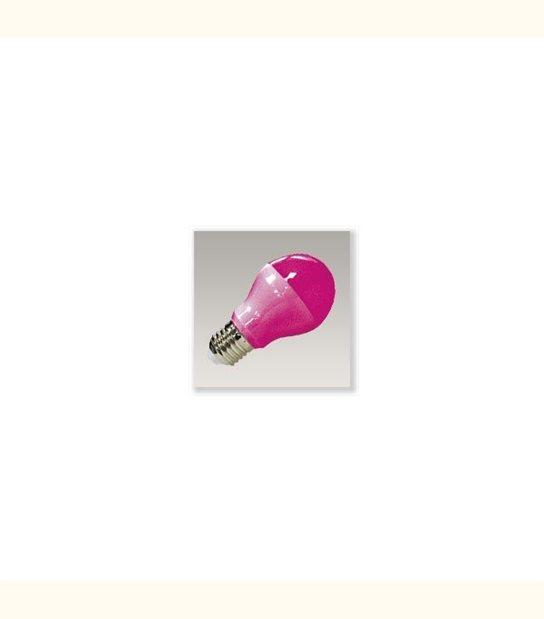Ampoule led E27 9 watt de couleur - Couleur - Rose - OLD-LEDFLASH - siageo-led.com
