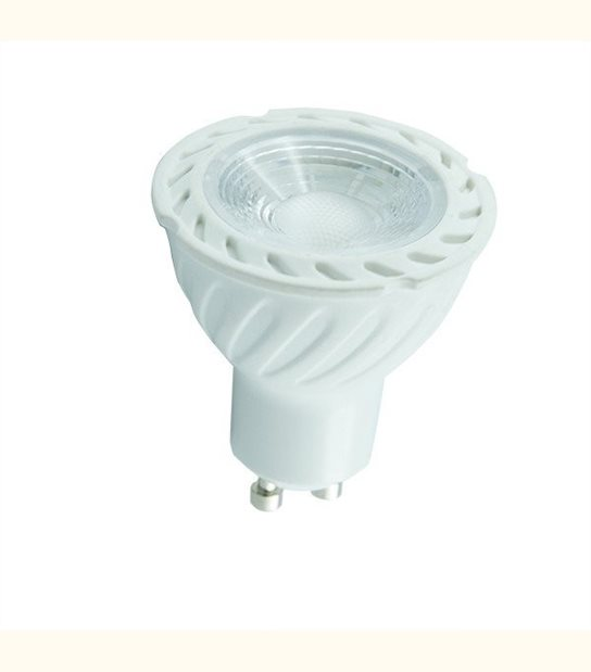 Spot led GU10 COB 7 watt (eq. 70 watt) - Couleur - Blanc chaud 3000°K - OLD-LEDFLASH - siageo-led.com