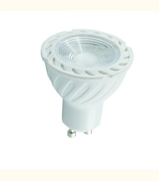 Spot led GU10 COB 7 watt (eq. 70 watt) - Couleur - Blanc froid 6000°K - OLD-LEDFLASH - siageo-led.com