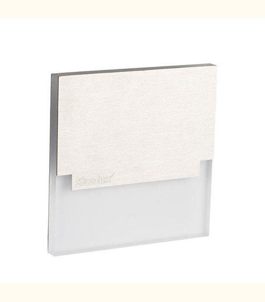 Applique led murale avec cache supérieur 1 watt - Couleur - Blanc chaud 3000°K - OLD-LEDFLASH - siageo-led.com