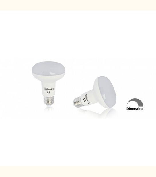 Ampoule led R80 E27 10 watt (eq. 100 watt) - Dimmable - Couleur - Blanc chaud 3000°K - OLD-LEDFLASH - siageo-led.com