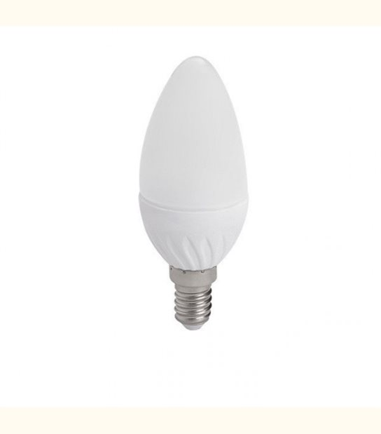Ampoule led flamme E14 4,5 watt (eq. 35 watt) - Couleur - Blanc neutre 4000°K - OLD-LEDFLASH - siageo-led.com