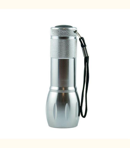 Lampe torche led - Finition - Grise - OLD-LEDFLASH - siageo-led.com
