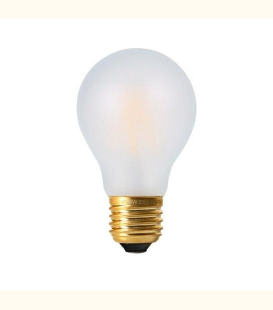 Ampoule led filament E27 8 watt dimmable (eq. 75 watt) - Culot - E27, Finition - Dépolie - OLD-LEDFLASH - siageo-led.com