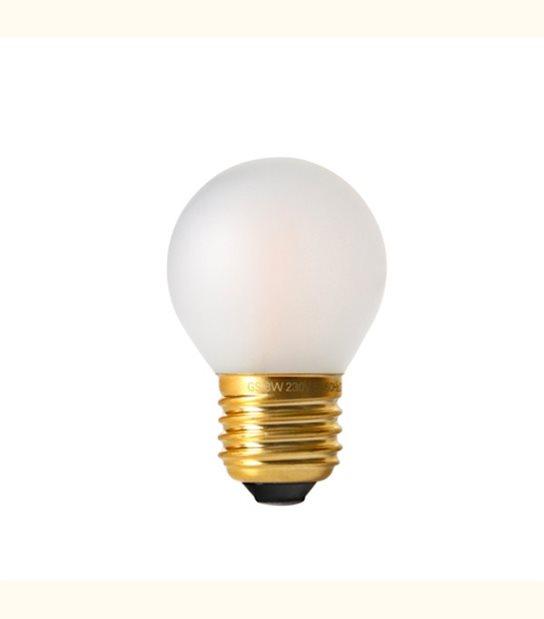 Ampoule led filament G45 E27 4 watt dimmable (eq. 30 watt) - Culot - E27, Finition - Dépolie - OLD-LEDFLASH - siageo-led.com