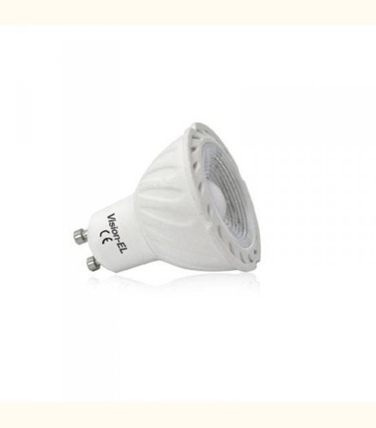 Spot led GU10 COB 5 watt Dimmable (eq. 45 watt) blanc - Couleur - Blanc froid 6000°K - OLD-LEDFLASH - siageo-led.com