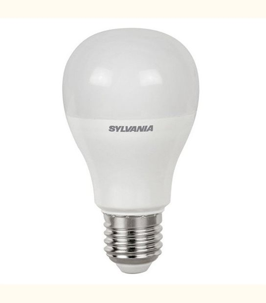 Ampoule led E27 10 watt (eq. 60 watt) - Sylvania - Couleur - Blanc chaud 2700°K - OLD-LEDFLASH - siageo-led.com