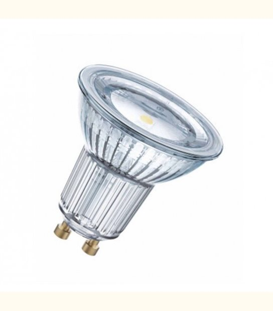 Ampoule LED star 4,3W (éq. 50W) 120° GU10 OSRAM - Couleur - Blanc chaud 2700°K - OLD-LEDFLASH - siageo-led.com