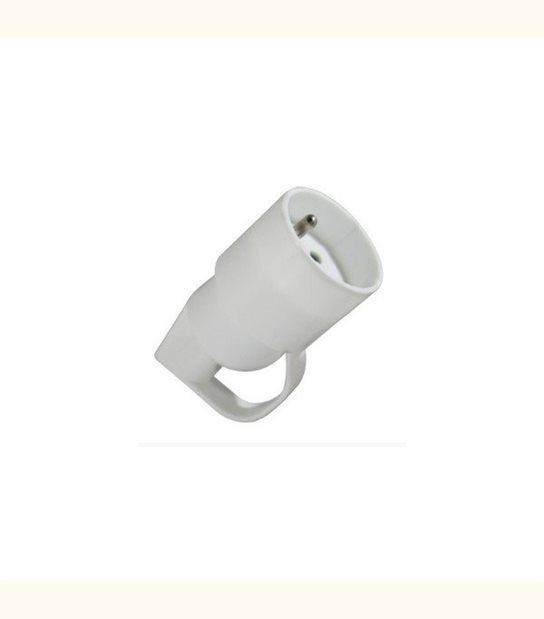 Fiche femelle anneau 16 ampères + terre - OLD-LEDFLASH - siageo-led.com