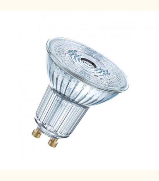 Ampoule LED star 2,6W (éq. 35W) GU10 OSRAM - Couleur - Blanc chaud 2700°K - OLD-LEDFLASH - siageo-led.com