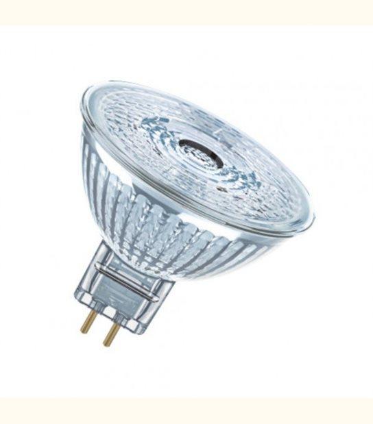 Ampoule LED star Dichroïque 4,6W (éq. 35W) 12v GU5,3 OSRAM - Couleur - Blanc chaud 2700°K - OLD-LEDFLASH - siageo-led.com