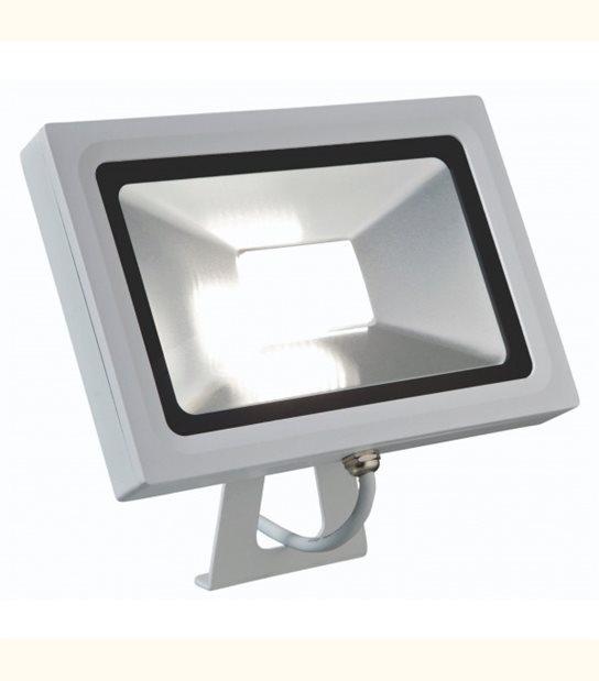Projecteur led 30 watt (eq. 200 watt) - Finition blanche ou anthracite - Finition - Blanc - OLD-LEDFLASH - siageo-led.com