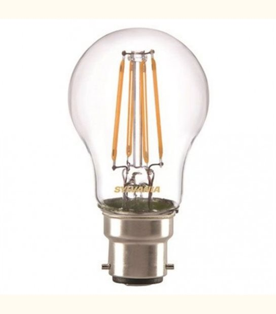 Ampoule led B22 filament 2 watt (eq. 25 watt) - Culot - B22 - OLD-LEDFLASH - siageo-led.com