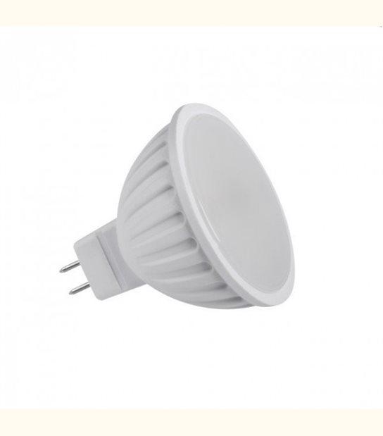 Spot LED GU5.3 7 watt (eq. 40 watt) - Couleur - Blanc chaud 3000°K - OLD-LEDFLASH - siageo-led.com