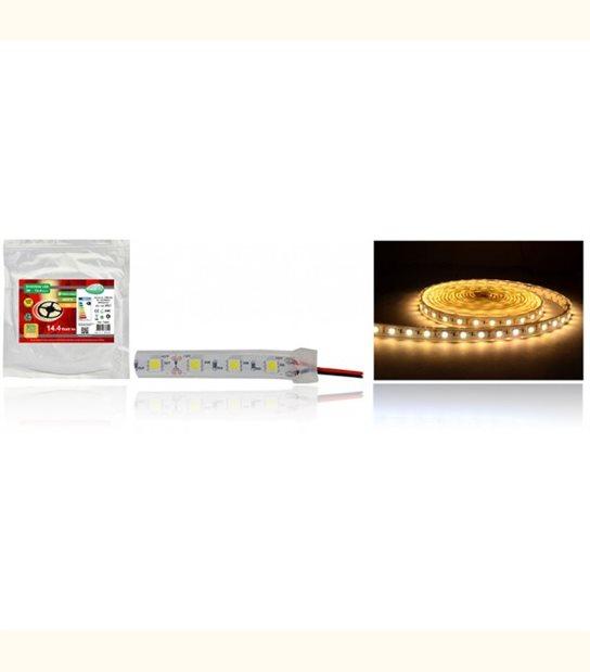Bandeau LED 12 Volt 72 watt submersible IP67 - Couleur - Blanc chaud 3000°K - OLD-LEDFLASH - siageo-led.com