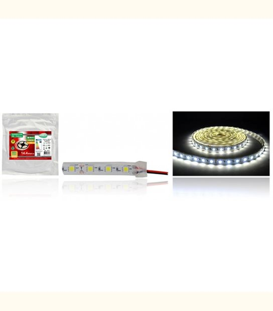 Bandeau LED 12 Volt 72 watt submersible IP67 - Couleur - Blanc neutre 4000°K - OLD-LEDFLASH - siageo-led.com
