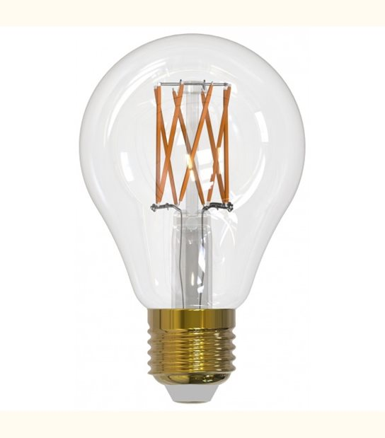 Filament LED A70 E27 8 watt (eq. 100 watt) GIRARD SUDRON - Couleur - Blanc chaud 2700°K, Finition - Claire - OLD-LEDFLASH - siageo-led.com